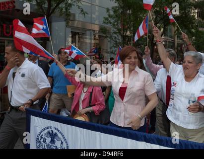 Puerto Rican parade - Stock Photo