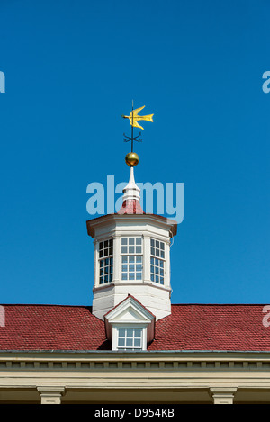 Main house cupola, Mt Vernon, Virginia, USA - Stock Photo