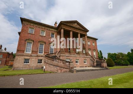 Tabley House near Knutsford Cheshire UK - Stock Photo