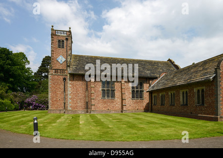 The Chapel at Tabley House near Knutsford Cheshire UK - Stock Photo
