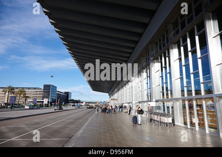 barcelona el prat airport terminal 2 catalonia spain - Stock Photo
