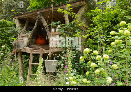 space hopper in garden stock photo  royalty free image tree house lexington ky ky treehouse rentals