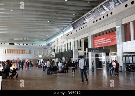 barcelona el prat airport terminal 2 catalonia spain - Stock Photo