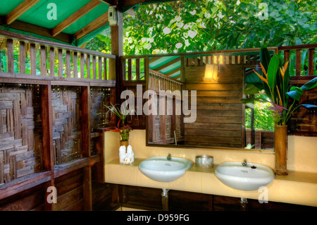 Tree House Bathroom tree house bathroom at our jungle house a lodge in the rainforest