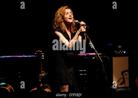 Toronto, Canada.  June 11, 2013. American Grammy award-winning singer-songwriter and musician Patty Griffin performs - Stock Photo