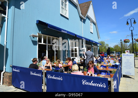 Carluccio S Restaurant At Bicester Village Outlet Shopping Centre Stock Photo Alamy