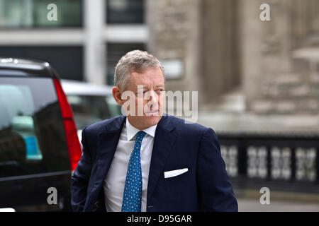 Rolls Building, London, UK. 12th June, 2013.  Picture shows Alexander Vik arriving at the Rolls Building, London - Stock Photo