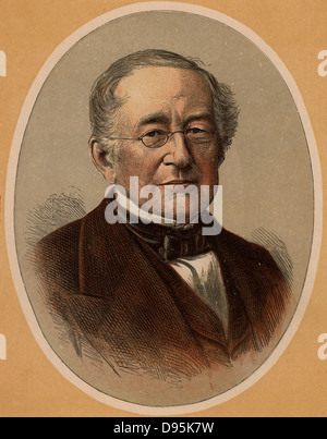 Prince Alexander Mikhailovich Gorchakov (1798-1883) Russian statesman and diplomat, one of the most influential - Stock Photo