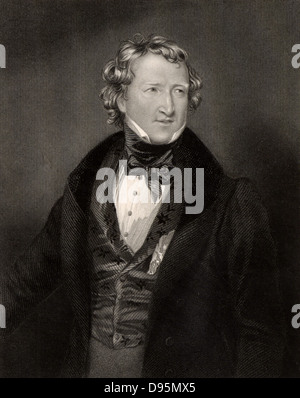 Thomas Wakley (1795-1862) English medical and social reformer and friend of William Cobbett. Founded the medical - Stock Photo