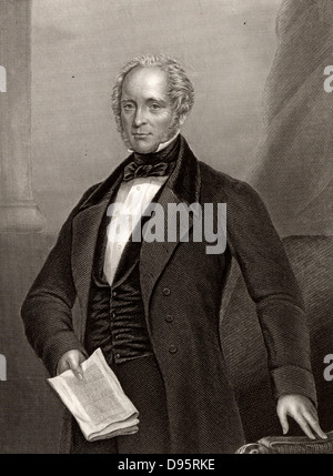 Henry John Temple, 3rd Viscount Palmerston (1784-1865) English politician. Foreign Secretary 1830-1841; Prime Minister - Stock Photo