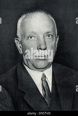 Richard (Georg) Strauss (1864-1949) German composer and conductor, born at Munich. - Stock Photo