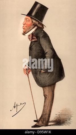 Meyer Amschel de Rothschild (1818-1874) English sportsman and art collector, fourth son of Nathan Meyer Rothschild. - Stock Photo