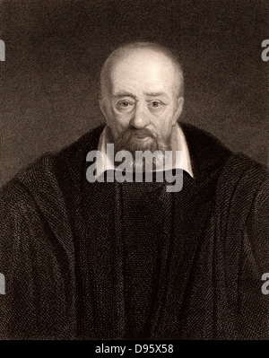 George Buchanan (1506-1582) Scottish humanist, historian and scholar. Tutor to Mary Queen of Scots (1562) and in - Stock Photo