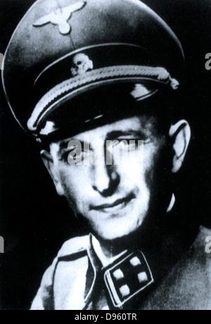Otto Adolf Eichmann (1906?1962) Nazi and SS-Obersturmbannführer (Lieutenant-Colonel). He was charged by Reinhard - Stock Photo