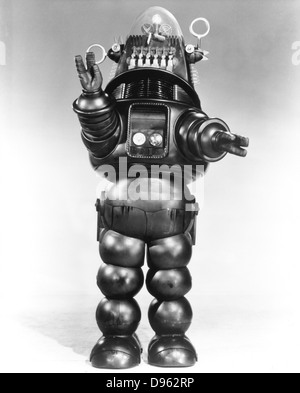 Robbie the Robot. From MGM film 'Forbidden Planet', 1956. - Stock Photo