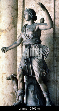 greek goddess artemis and the roman goddess diana essay Diana in mythology according to roman mythology, diana was the daughter of jupiter  but over time blended with the greek goddess artemis diana represented one of the most complex figures in.
