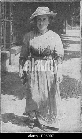 Rosa Luxemburg (1871-1919) Polish-born German Communist revolutionary. Murdered in Berlin. - Stock Photo