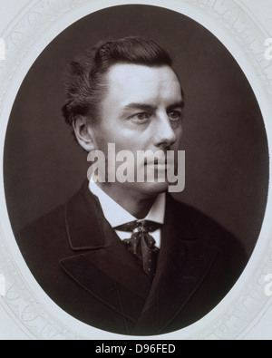 Joseph Chamberlain (1836-1914) British Liberal statesman. Photograph published c1885. Woodburytype - Stock Photo