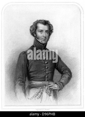 Alexander Gordon Laing (1793-1826), Scottish explorer of Western Africa.  He was the first European known to have - Stock Photo