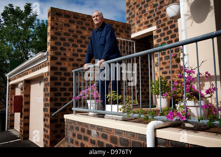 Albert Uytenbogaardt home in Durbanville in Cape Town South Africa Albert was goal keeper played Springboks 1955 to 1957 before