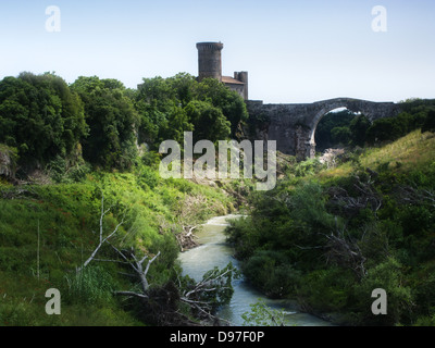 Vulci castle - Stock Photo