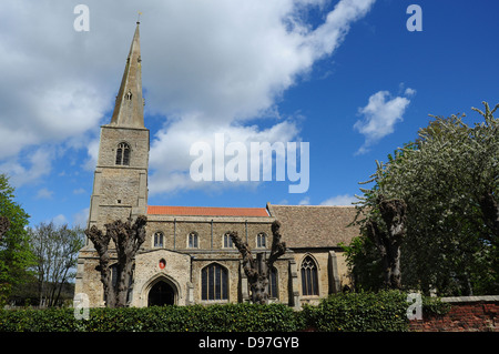 The Parish Church of St Peter and St Paul, Fenstanton, Cambridgeshire, England, UK - Stock Photo