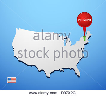 North America USA Vermont West Dover The Whimsicallydesigned - Usa map vermont