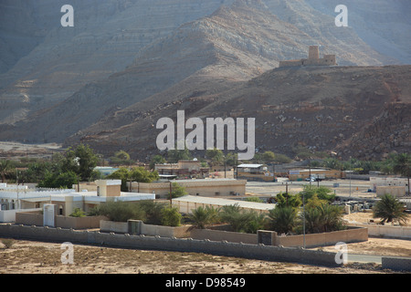 Bukha fort, Bukha, Bucha, in the granny's niches enclave of Musandam, Oman - Stock Photo