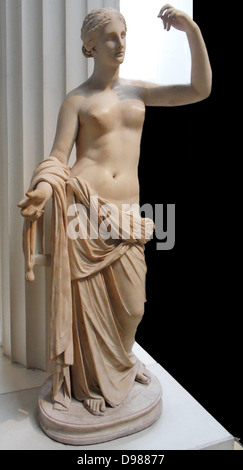 Roman Statue of Venus, 2nd Centurt AD. Venus was the Roman goddess of Love - Stock Photo