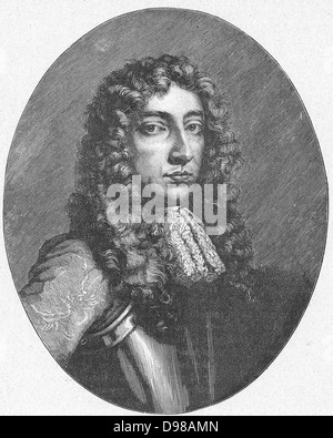 Anthony Ashley Cooper, lst Earl of Shaftesbury (1621-1683). In English Civil Wars was at first a Royalist but in - Stock Photo