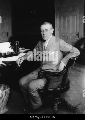 a biography of woodrow wilson the 28th president of the united states Woodrow wilson is the president who led the united states through world war i after a respectable career as a scholar, woodrow wilson became the president of.