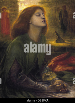 Dante Gabriel Rossetti, Beata Beatrix, 1864-1870 - Stock Photo