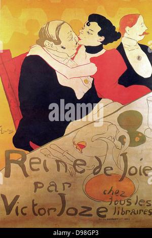 Henri de Toulouse-Lautrec 1864 – 1901, French painter, Reine de Joie 1892 - Stock Photo