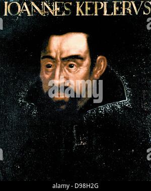 Johannes Kepler, 1571 – 1630, German mathematician , astronomer and astrologer - Stock Photo