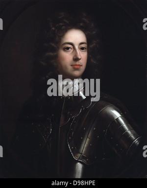 John Churchill, 1st Duke of Marlborough. portrait painted by  John Closterman (died 1711). - Stock Photo