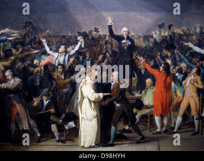 French Revolution. The Tennis Court Oath (june 20, 1789 ...