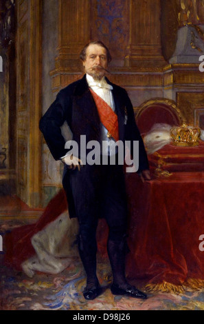 Napoleon II, painted by Alexandre Cabanel (French, 1823-1889) ca. 1865 - Stock Photo