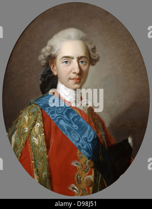 Louis XVI (1754-1793) king of France from 1774 until guillotined during the French Revolution. Louis while still - Stock Photo