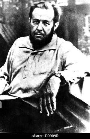 Aleksandr Isayevich Solzhenitsyn  (December 11, 1918 – August 3, 2008)[2] was a Russian novelist, dramatist and - Stock Photo