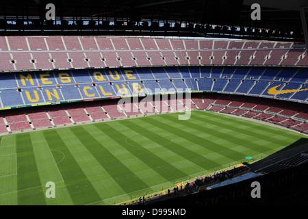 Barcelona football club. - Stock Photo