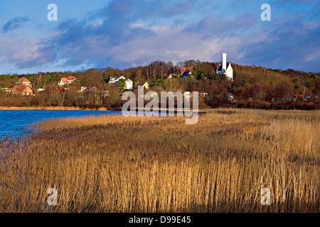 Lietzow Castle, Ruegen Island, Mecklenburg-Western Pomerania, Germany - Stock Photo