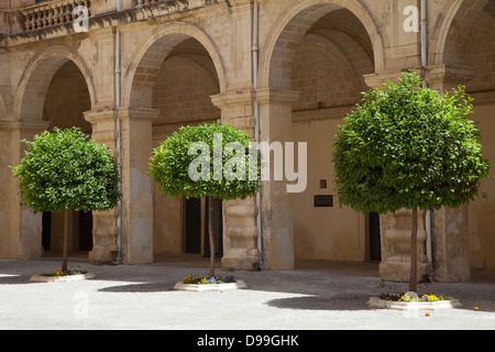 The Grandmaster's Palace, Valletta, Malta. - Stock Photo