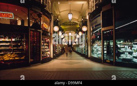 Burlington Arcade, Mayfair, London W1 - Stock Photo