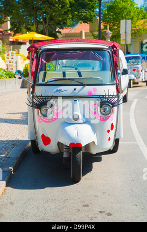Auto rickshaw in disguise - Stock Photo