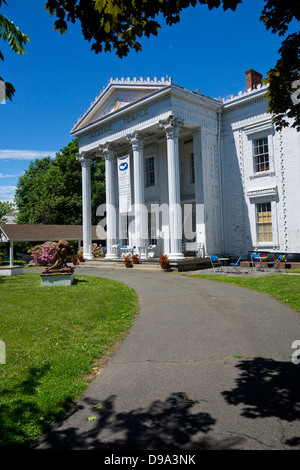 Sag Harbor Whaling Museum on Long Island - Stock Photo