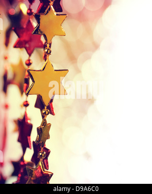 Holiday background with copy space - Stock Photo