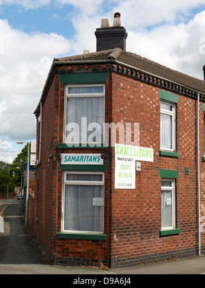 Samaritans office in Crewe Cheshire UK - Stock Photo