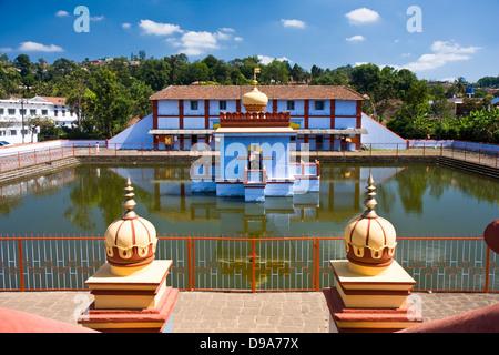 Asia, India, Karnataka, Madikeri, Omkareshwara Shiva Temple