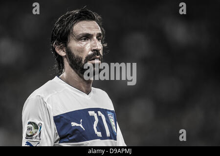 Rio de Janeiro, Brazil. 16th June, 2013. Andrea Pirlo (ITA), JUNE 16, 2013 - Football / Soccer : FIFA Confederations - Stock Photo