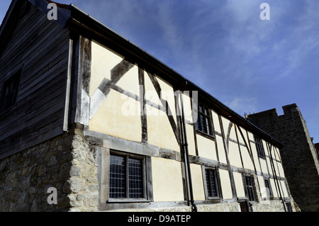 Westgate Hall, City Walls, Southampton, Hampshire, England - Stock Photo